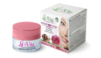 Intensive night cream snails & roses 25% snails extract